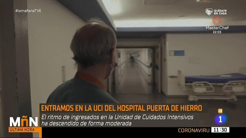 La situación desde dentro en la UCI del hospital Puerta de Hierro de Madrid