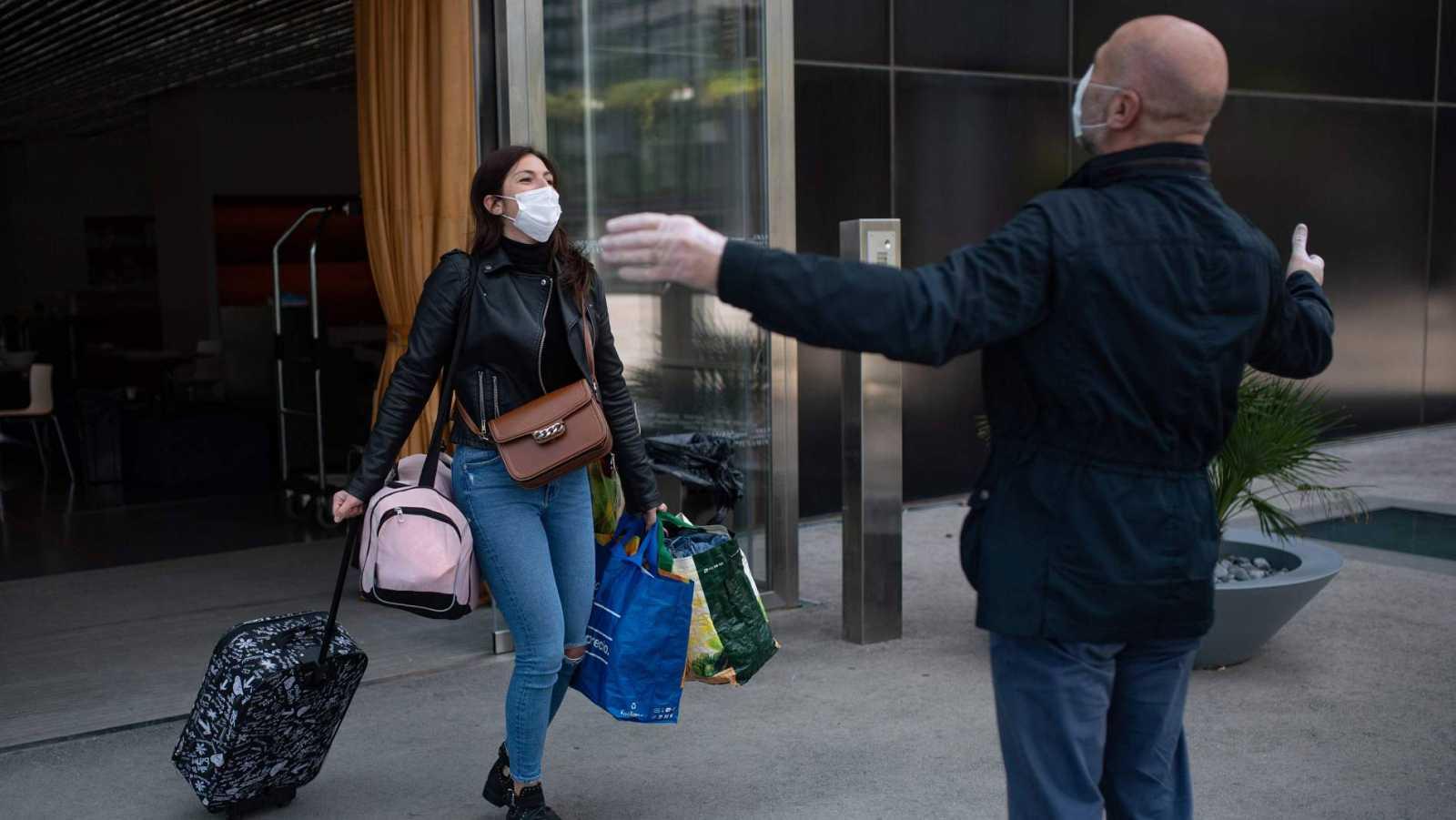 Los curados vuelven a superar a los contagiados por coronavirus y ya hay más de 100.000 recuperados