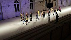 Ni prensa ni público, así ha sido el desfile de David Catalán en Oporto