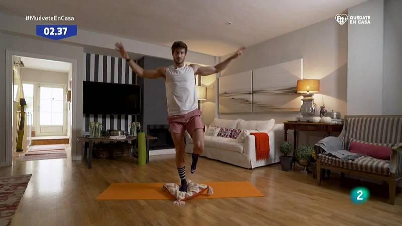 Muévete en casa - ¡Pon a prueba tu equilibrio!