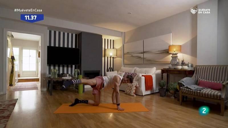 Muévete en casa - ¡Pon en formo los glúteos y el abdomen!