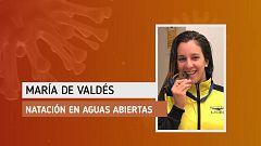 "María de Valdés: ""Me he tenido que trasladar a casa de mis tíos para poder seguir entrenando"""