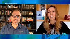 Noms Propis  connectats -  Andrea Vilallonga, consultora d'imatge i comunicació, i Tomás Navarro, psicòleg i escriptor