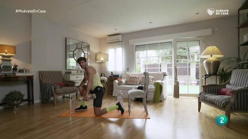 Muévete en casa - Bloque 1: Trabajaremos un grupo muscular grande con otro pequeño