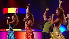 """Festival de Eurovisión 2005 - Son de Sol cantó """"Brujería"""""""