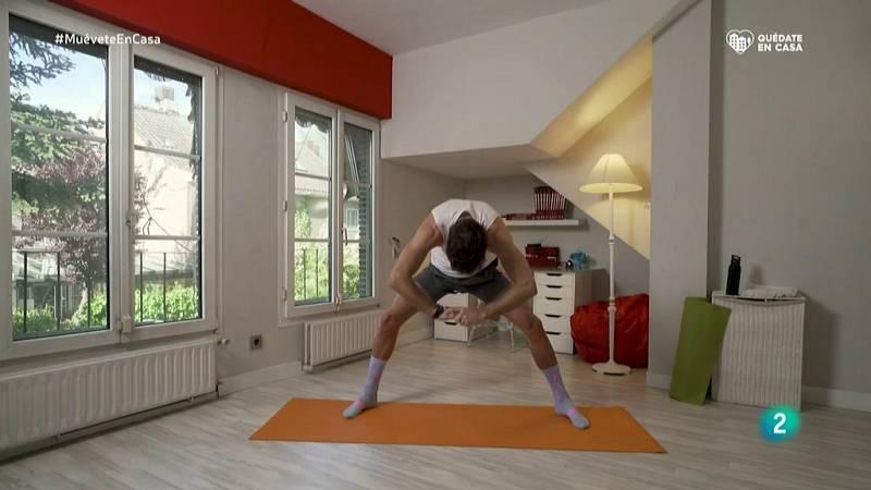 Muévete en casa - ¡Estiramientos para activar el cuerpo!