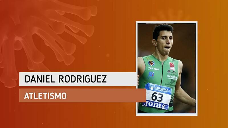 """Daniel Rodríguez: """"Tengo ganas de ir a la pista para entrenar en buenas condiciones"""""""