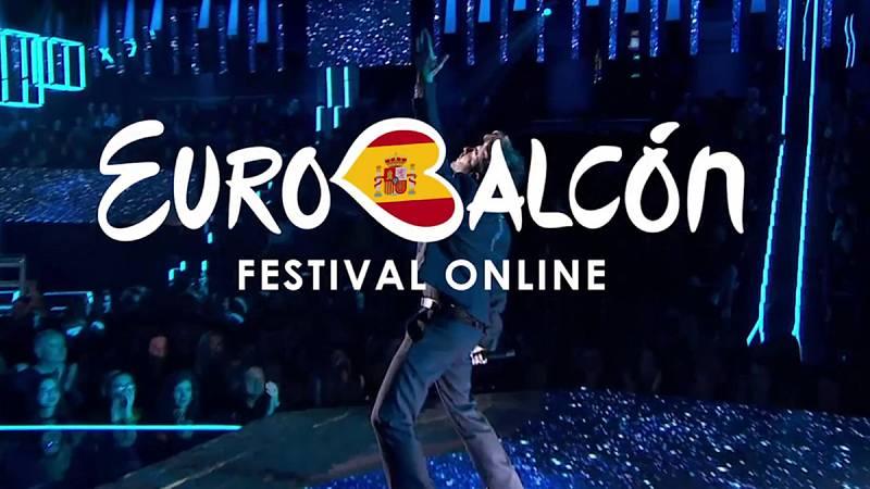 'Eurobalcón' reúne a los últimos representantes de España en Eurovisión