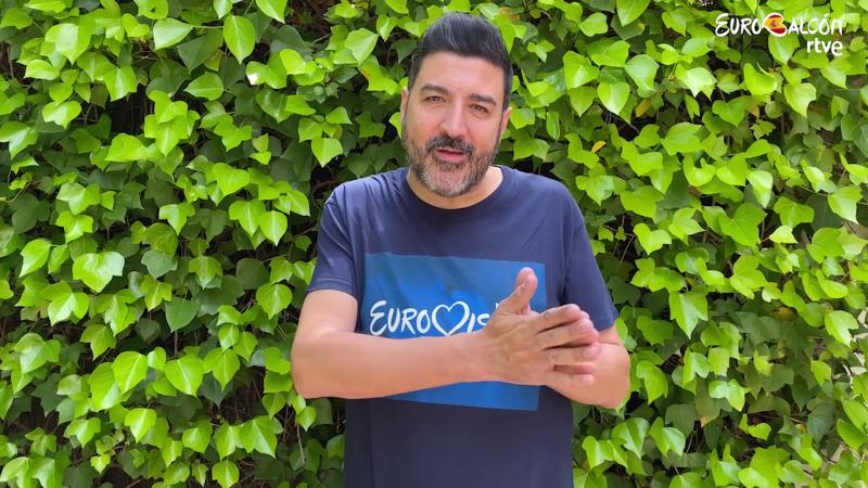 Eurobalcón - Tony Aguilar presenta el concierto 'online'