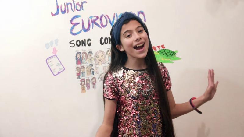"Melani canta ""Marte"""