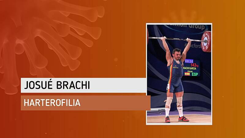 """Josué Brachi: """"Lo que peor llevo del confinamiento es no poder entrenar, porque soy una persona muy activa"""""""