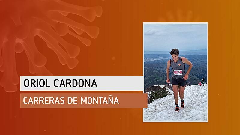 """Oriol Cardona: """"Lo que más echo en falta es salir a correr por el monte"""""""