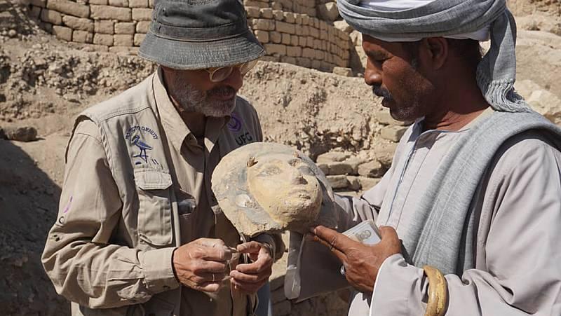 Dos décadas de descubrimientos de investigadores españoles en Egipto que esperan a ver la luz