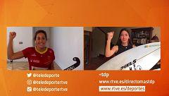 Garazi Sánchez y María López, este sábado en 'Ellas te entrenan con TDP'