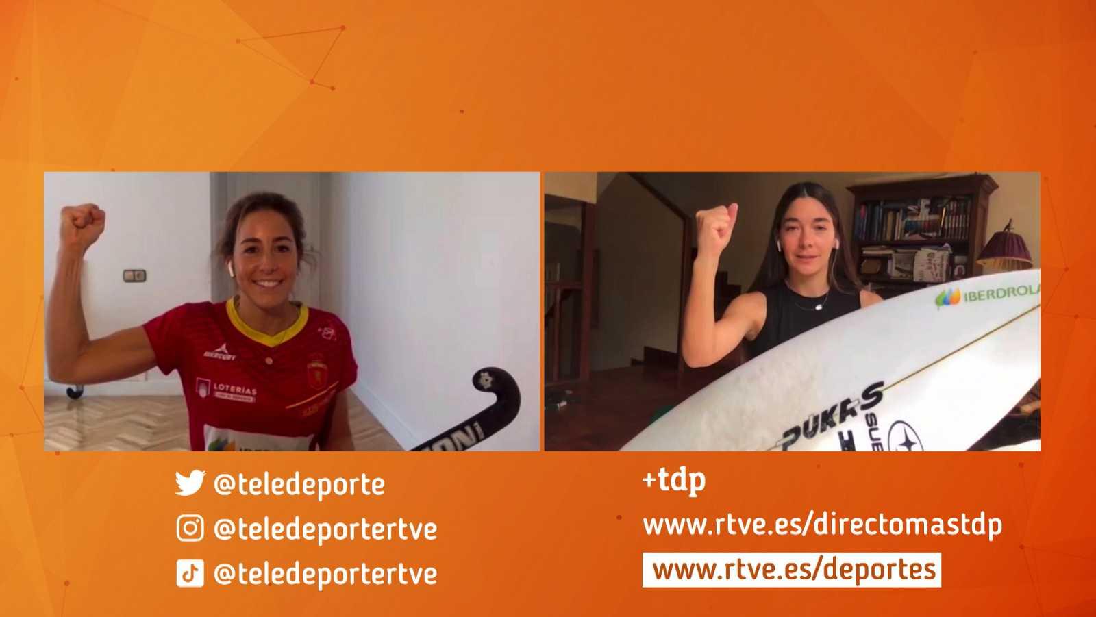 Vídeo: Garazi Sánchez y María López, este sábado en 'Ellas te entrenan con TDP'
