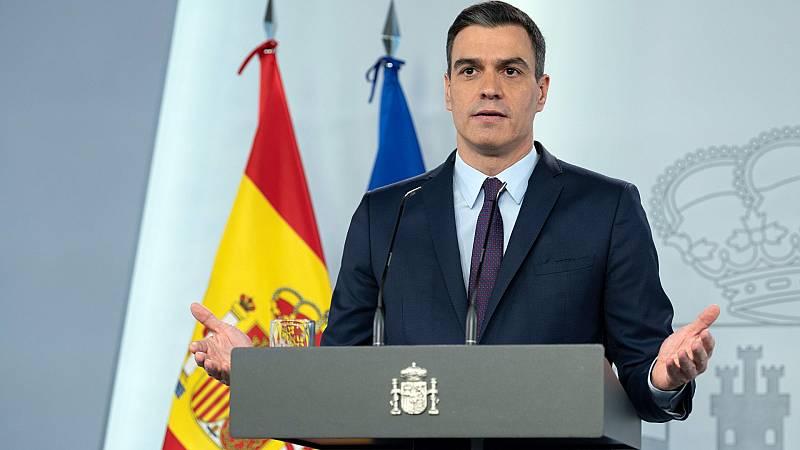"""Sánchez: """"El estado de alarma sigue siendo necesario"""""""