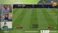 Goles y reacciones de la final del torneo 'GameHer'