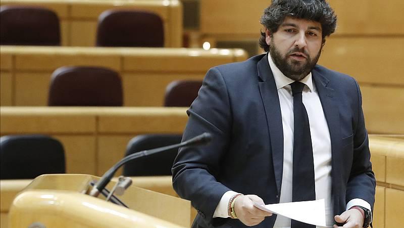 López Miras pide a Sánchez que llame a Casado para pactar medidas