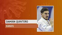 """Damián Quintero en su primer entrenamiento al aire libre: """"Ahora toca ser responsables"""""""