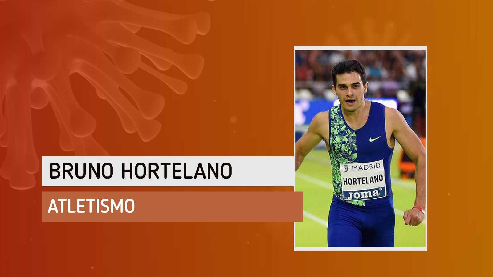 """Bruno Hortelano: """"Este primer día voy a hacer rodajes y aceleraciones"""""""