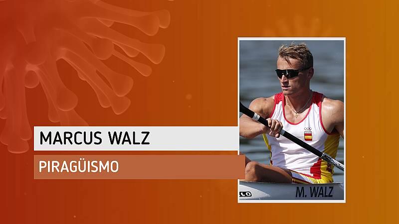 """Marcus Walz: """"Ya tenía ganas de tocar el agua"""""""