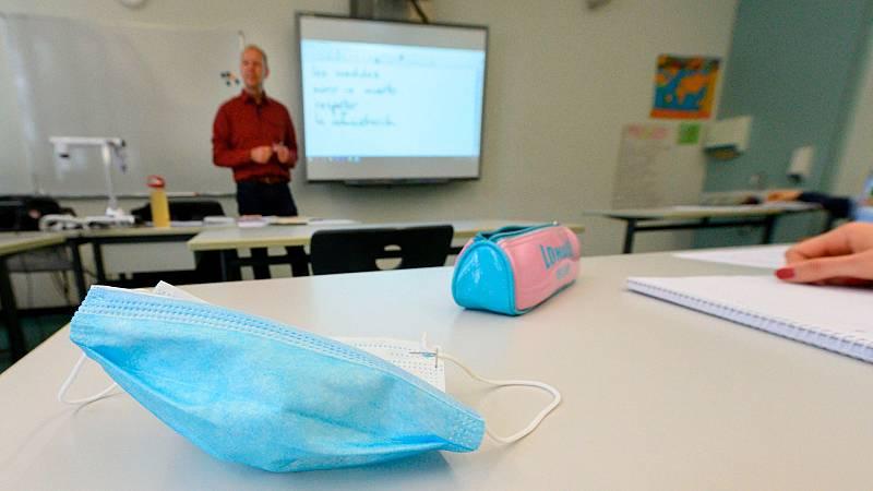 Los alumnos alemanes regresan a las aulas con medidas de distanciamiento