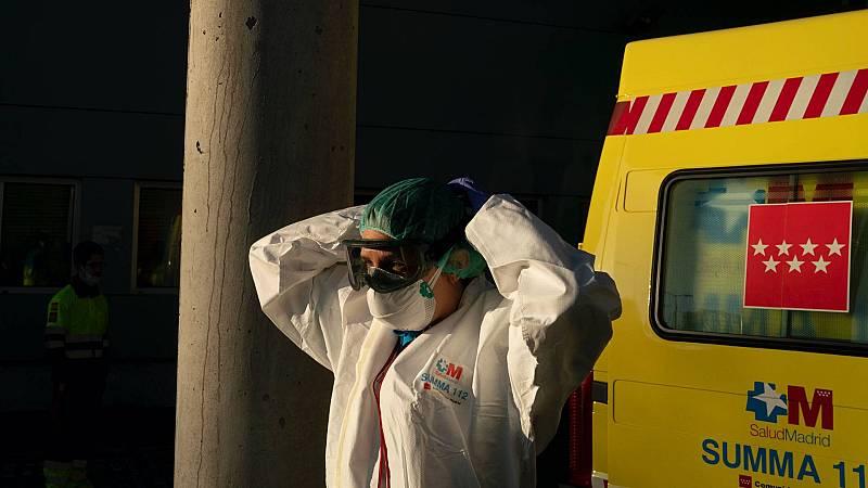 El protocolo anti-coronavirus en las ambulancias