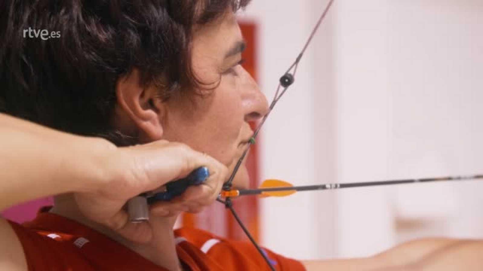Fátima Agudo, arquera y enfermera contra el coronavirus