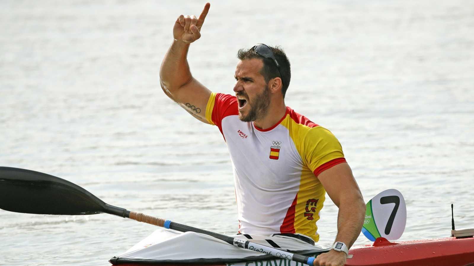 Saúl Craviotto vuelve a subirse a la piragüa