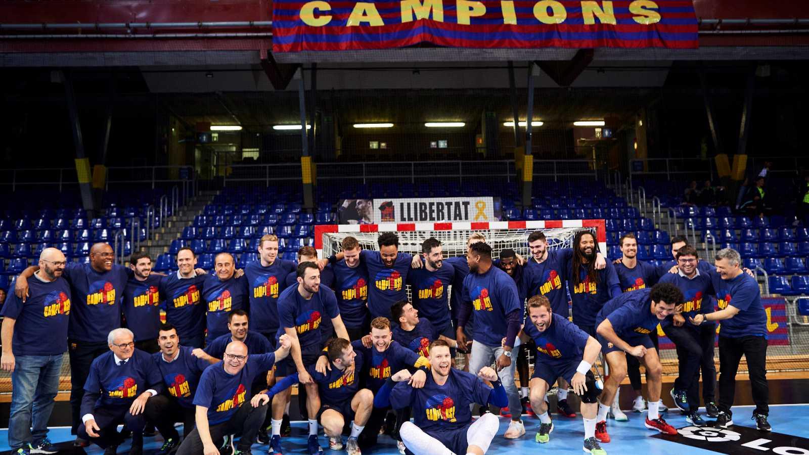 El Barça y el Super Amara Bera Bera, campeones de la Liga ASOBAL y la Liga Guerreras Iberdrola
