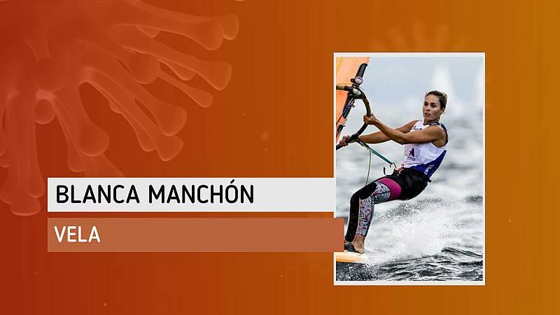"""Blanca Manchón: """"Me acuerdo más de navegar de lo que pensaba"""""""