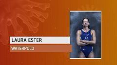 """Laura Ester: """"Correr no se me da muy bien, yo soy más de agua"""""""