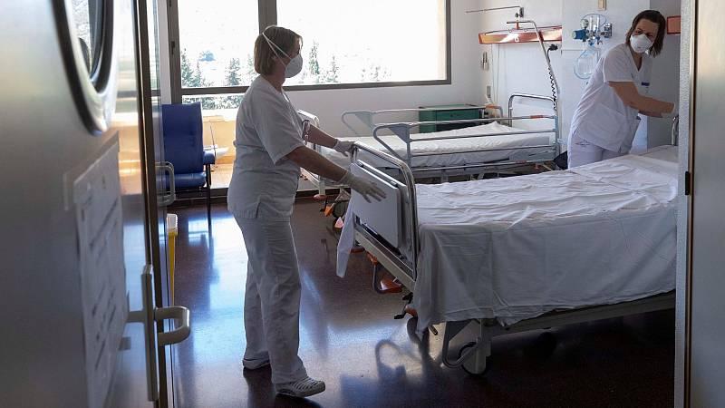 Repunta levemente el número de muertos en España a 185 y los contagios se duplican a 867