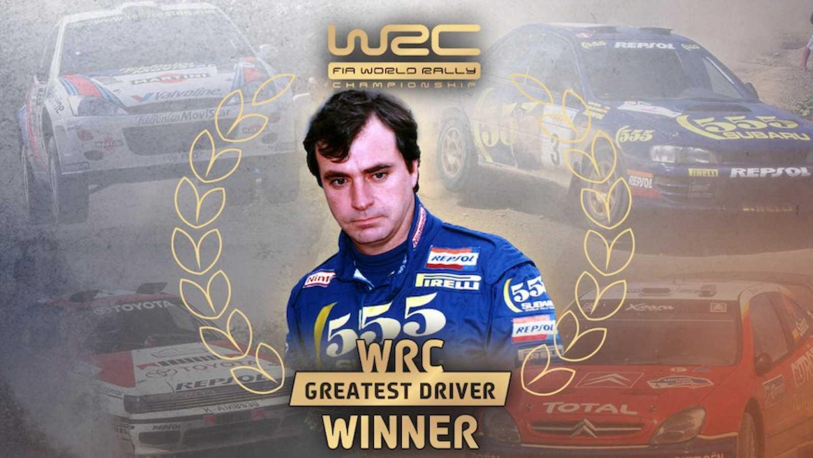 Carlos Sainz, elegido mejor piloto de la historia del Mundial de rallies