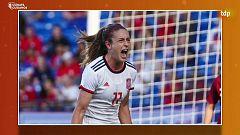TDP en casa - Fútbol - Torneo femenino SheBelieves Cup: España - Inglaterra