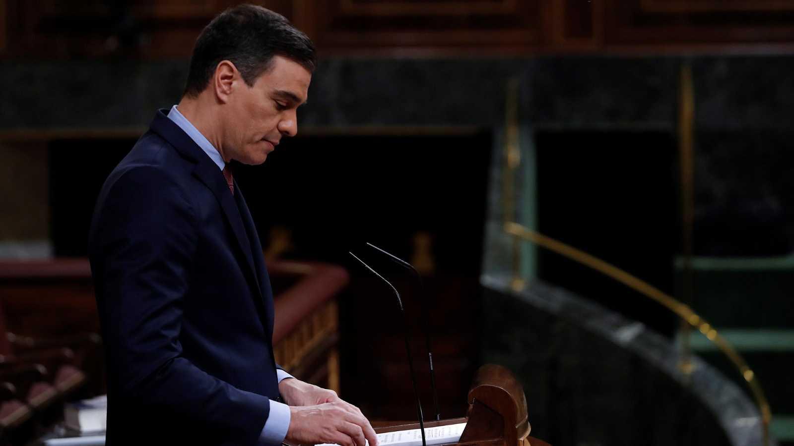 """Sánchez: """"Levantar el estado de alarma ahora sería un error absoluto, total e imperdonable"""""""
