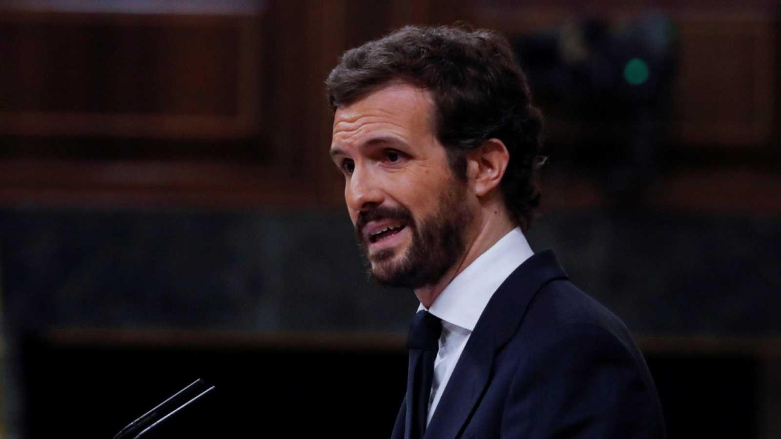 """Casado acusa a Sánchez de sobrepasar los límites del Estado de Alarma y aplicar un """"estado de excepción encubierto"""""""