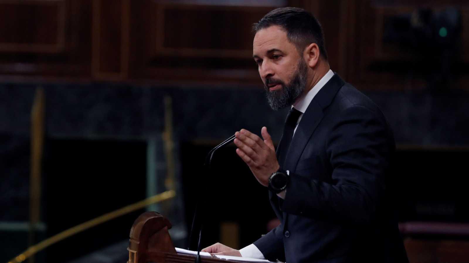 Abascal anuncia que convocará el jueves manifestaciones por todo el país para pedir la dimisión del Gobierno