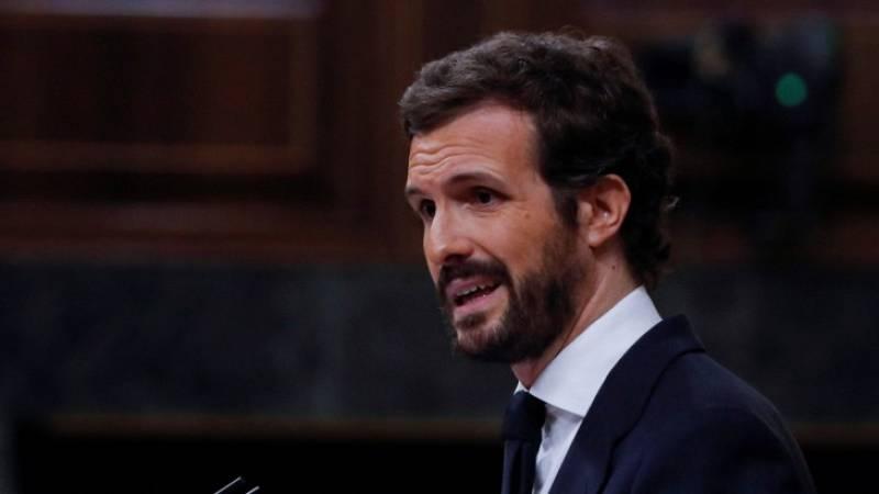 """Casado a Sánchez: """"El error absoluto en todo esto es usted"""""""