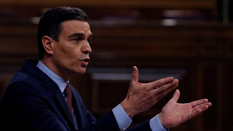 """Sánchez avisa que levantar el estado de alarma sería """"un error absoluto"""" y Casado anuncia su abstención"""