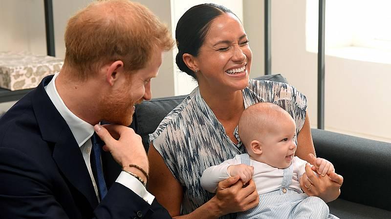 El primer año de Archie, hijo de Meghan y Harry, en imágenes