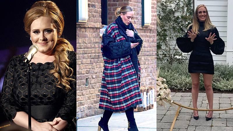 El impactante cambio de imagen de Adele en su 32 cumpleaños