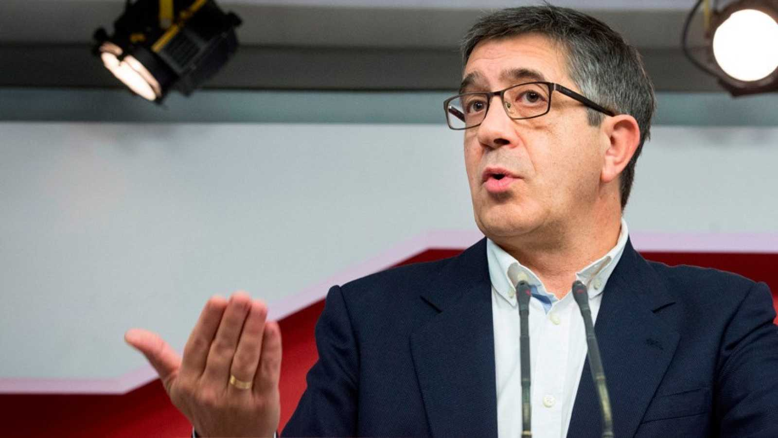 Patxi López presidirá la comisión de reconstrucción social y económica