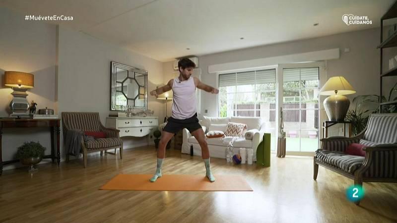 Muévete en casa - Calentamiento activando todo el cuerpo