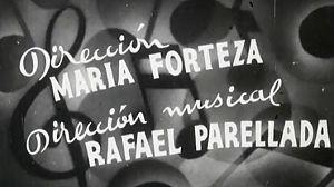La Filmoteca descubre a una directora de cine pionera, María Forteza