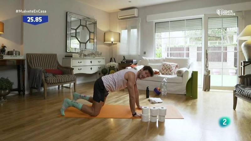 Muévete en casa - Planchas para fortalecer el core
