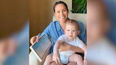 Meghan Markle y su hijo Archie en un video solidario