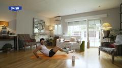 Muévete en casa - Programa 34 (Fuerza de abdomen)