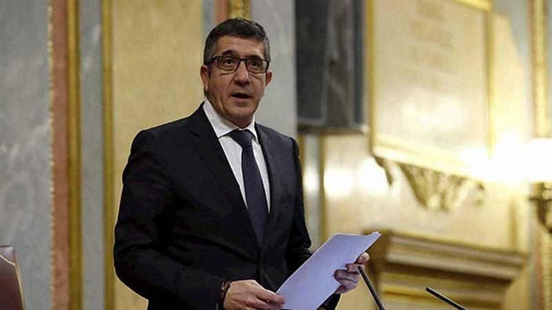 Patxi López llama a buscar acuerdos tras ser elegido presidente de la comisión para la reconstrucción