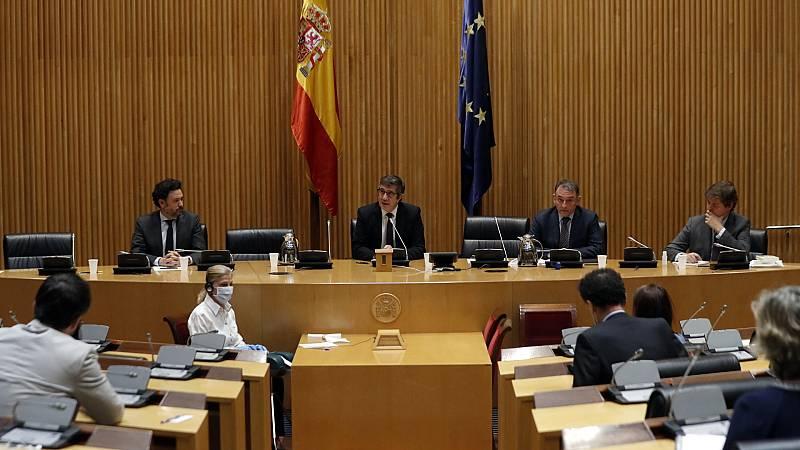 Arranca la comisión para la reconstrucción, presidida por Patxi López